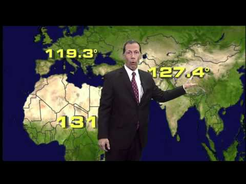What is the hottest air temperature ever recorded on Earth?