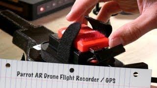 Review of the GPS Parrot AR Drone Flight Recorder - Autonomous GPS Flight !