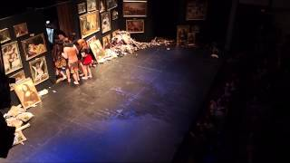 Коляда-театр, Гамлет, поклоны - Москва, январь 2015