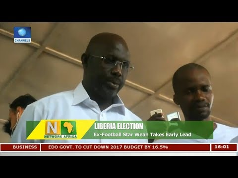 Ex-Football Star Weah Takes Early Lead In Liberia Election | Network Africa |