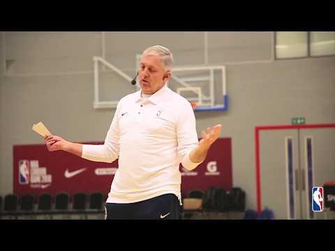 NBA London Coaching Clinic - Don Showalter