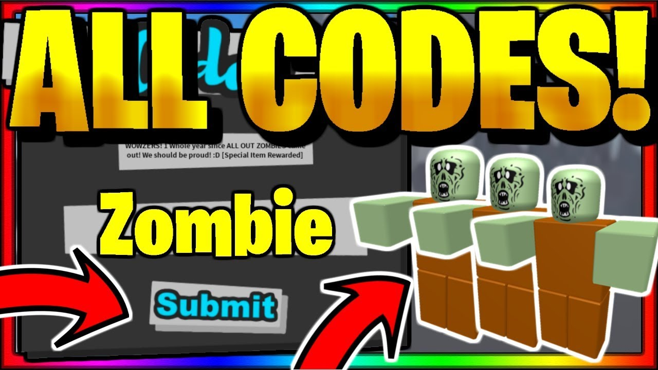 Roblox All Out Zombies Wiki All New Secret Op Working Codes Roblox All Out Zombies Youtube
