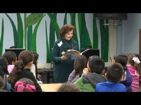 Texas Poet Laureate visits Howsman Elementary School