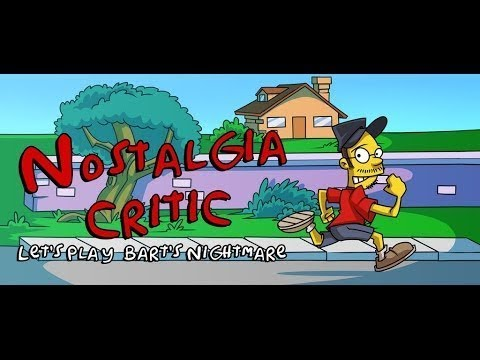 Ностальгирующий Критик - Летсплей Bart`s Nightmare