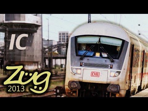 Zug2013: Intercity IC Dokumentation Teil 2 mit BR101, 120, 146, 182 u.v.m. (2000-2032)