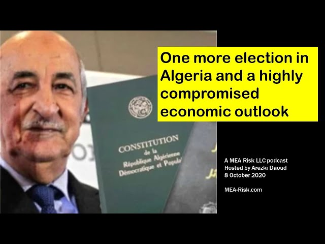 One more election in Algeria and a highly compromised economic outlook