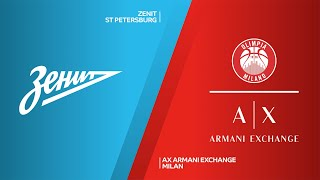 Zenit St Petersburg - AX Armani Exchange Highlights | Turkish Airlines EuroLeague, RS Round 5