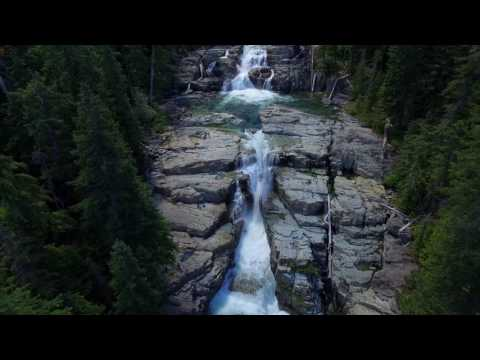 Myra Falls | Vancouver Island | 4K DRONE