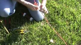 tuning the 40 80 meter inverted v dipole antenna