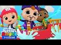 Песенка Про Пиратов | Обучающие Мультики и Игры Для Детей | Little Angel Русский