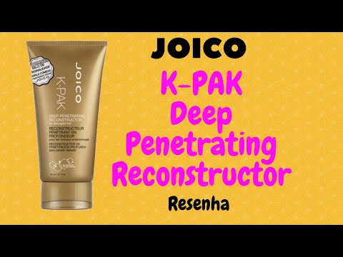 Resenha K PAK Joico Reconstrutor