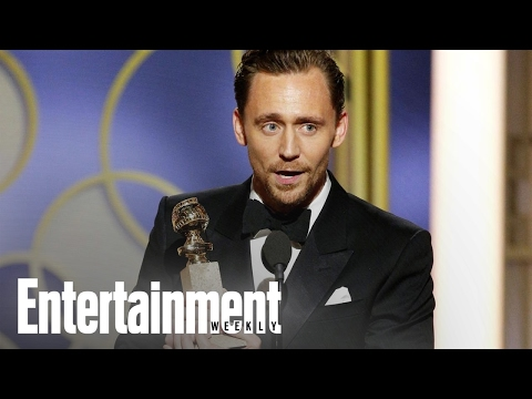 Thumbnail: Why Tom Hiddleston Was Criticized For His Golden Globes Speech | News Flash | Entertainment Weekly