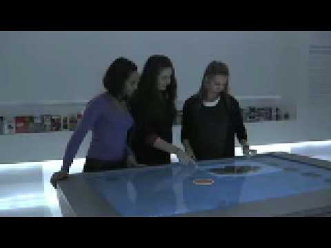 NYC Visitor Center Uses Google Maps with GestureTek Multi-Touch Table