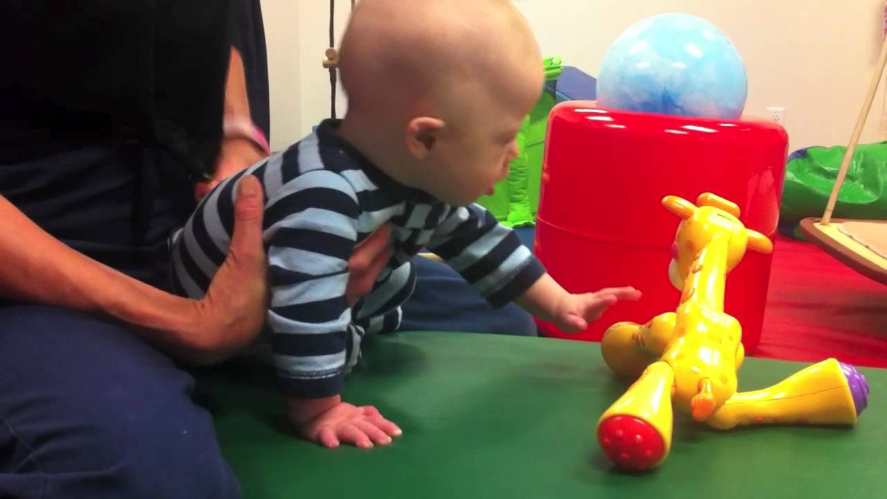 Down syndrome and physical therapy - Baby With Down Syndrome At Physical Therapy