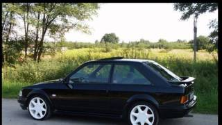 1989 Ford Escort MK4 Zetec history