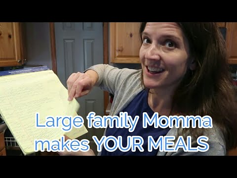 Large Family Momma Makes EASY LUNCH And DINNER Viewer Inspired Meals
