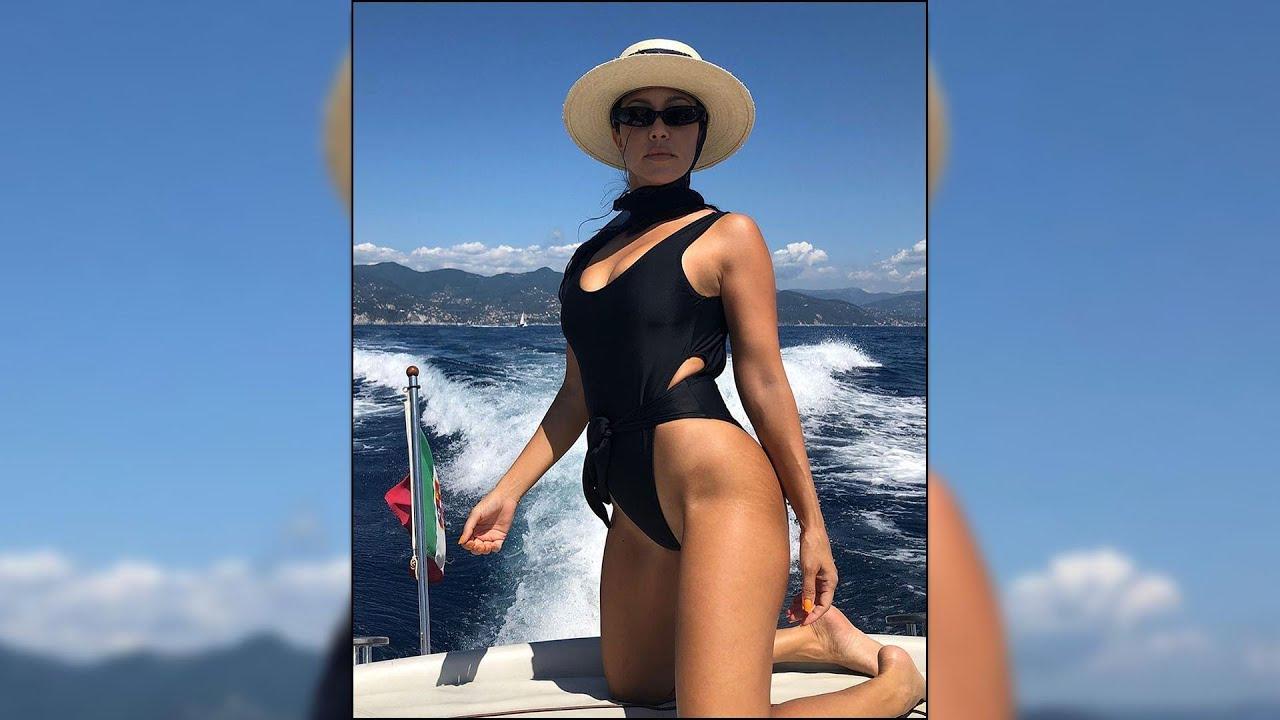 Kourtney Kardashian Proudly Shows Off Her Stretch Marks!