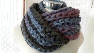 Strickring Loom Knit Prym Schal Patentmuster Veronika Hug