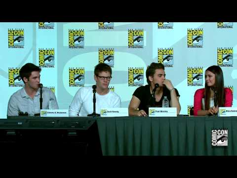 The Vampire Diaries Comic Con 2012 Panel