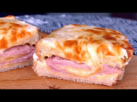 Sándwich Croque Monsieur, sándwiches TOP 1