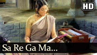 Sa Re Ga Ma - Jagdeep - Mumtaz - Aaina - Singing Rehearsal - 70s Bollywood Songs