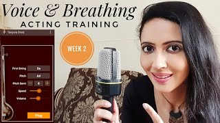 Voice Training For Actors | Pitch, Tone, Volume, Breathing| Acting Training Part 2
