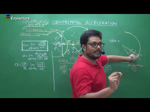 Centripetal Acceleration | Motion in a plane | Class XI | JEE | NEET