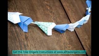 Origami Plane Fly