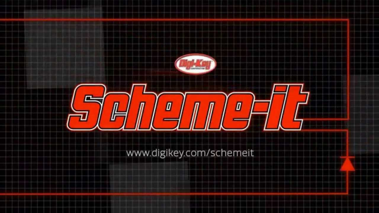 Scheme-it -- Free Online Schematic Tool | DigiKey - YouTube on free venn diagram, free design, logic synthesis, free electronics, free schedule, free assembly, free sectional, free logic, free pictogram, free cad, free drawing, electronic design automation, digital electronics, schematic editor,