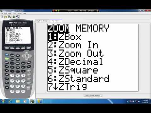 Zoom And Trace On The Ti Calculator