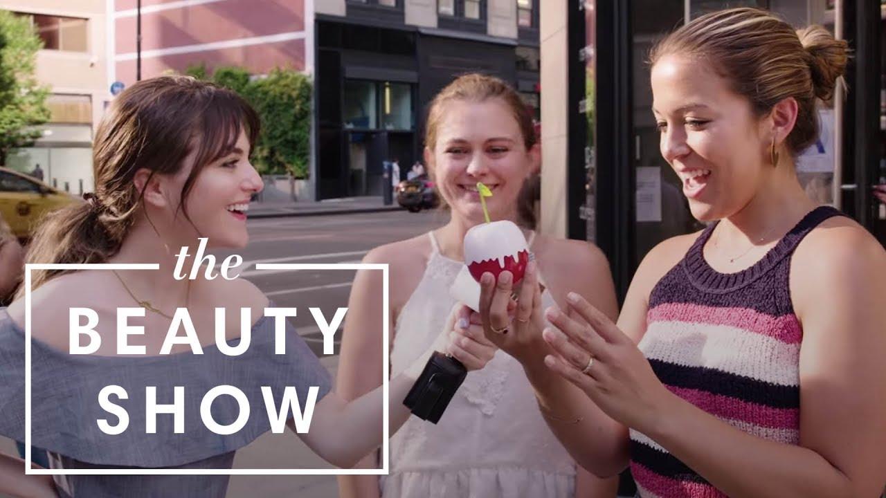 New Yorkers Review the New KKW Fragrance Kimoji Cherry Perfume | The Beauty Show | Harper's BAZAAR
