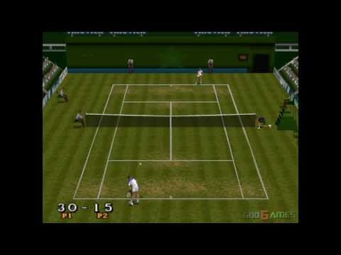 Break Point Tennis – Gameplay PSX (PS One) HD 720P (Playstation classics)