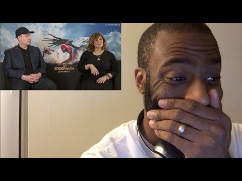 REACTION to Amy Pascal w Kevin Feige confirming Venom in CONNECTED SpiderMan: Homecoming Universe!