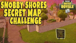 Fortnite: New WEEK 3 Snobby Shores Map Challenge Location