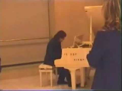 Gianluca Attanasio,  live piano in Slovakia Embassy-The Slovak Cultural Center (Rome)