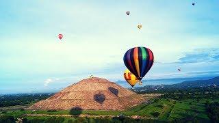 Vuelo en Globo Aerostático Teotihuacán