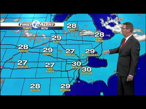 Metro Detroit Forecast: Slick spots on roads
