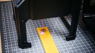 видео Лазерный гравер