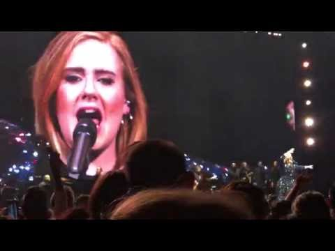 """Adele """"When We Were Young"""" Live Madison Square Garden"""