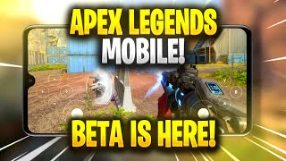 Apex Legends Mobile Beta Is Here!!🔥 | Gameplay & Release Date(Official)