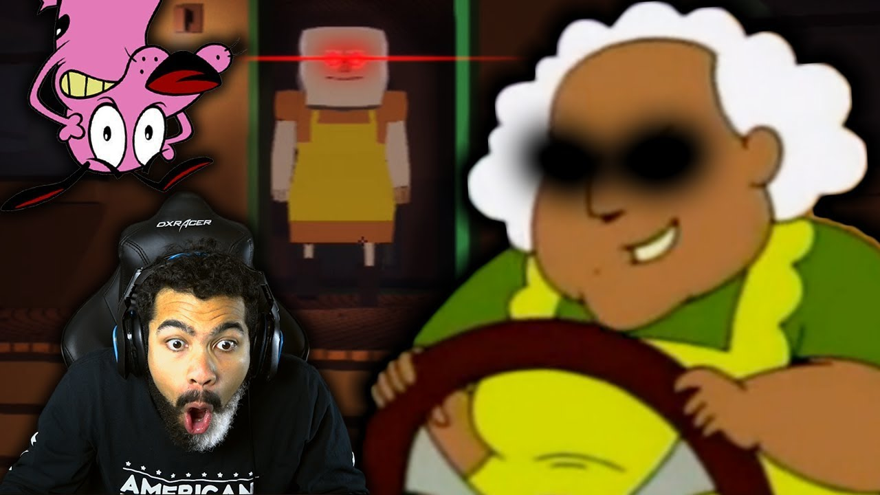 Courage The Cowardly Dog Has A Horror Game Courage S Curse