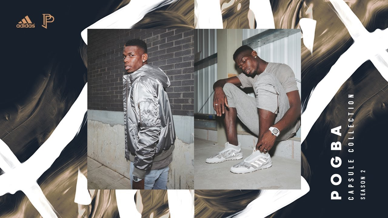 25e3ea75ebe adidas x Paul Pogba Capsule Collection Season 2 - YouTube