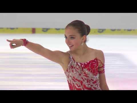 Анна Кузьменко Франция | ISU Гран При (юниоры) 2018 Линц | Произвольная программа (девушки)
