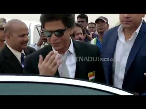 Hockey WC 2018: SRK arrives in Odisha