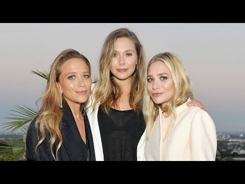 The Olsen Twins Spotted Enjoying A Rare Night Out With Sister Elizabeth Olsen Youtube