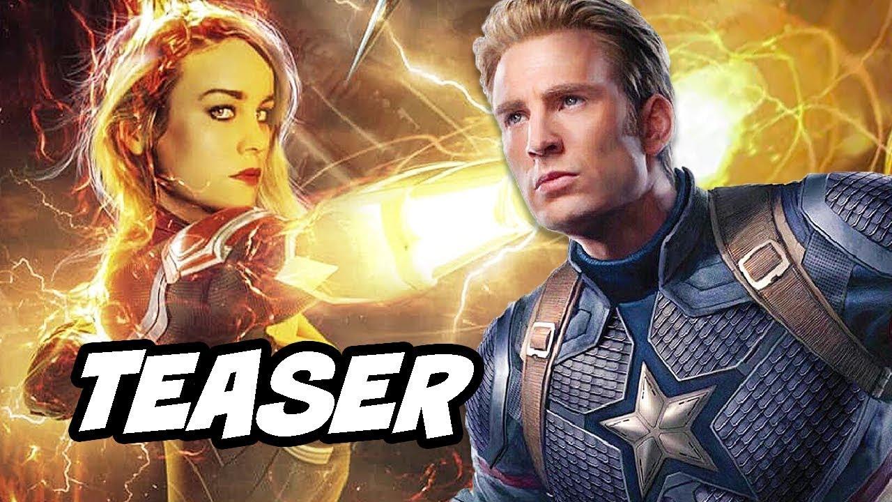 avengers 4 captain marvel plot teaser - captain marvel vs thanos fight