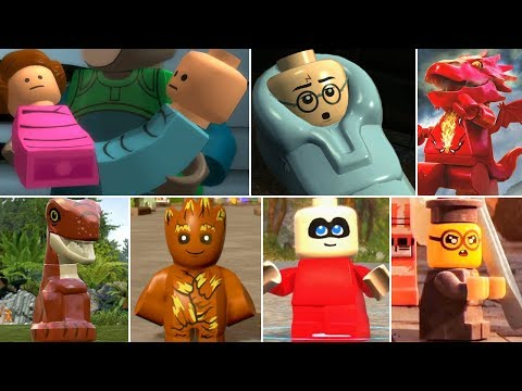 All Baby Characters In LEGO Videogames