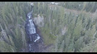 Alexander Falls, Sea to Sky highway, B.C., Canada by RSamson. Dji Phantom 3 4K drone