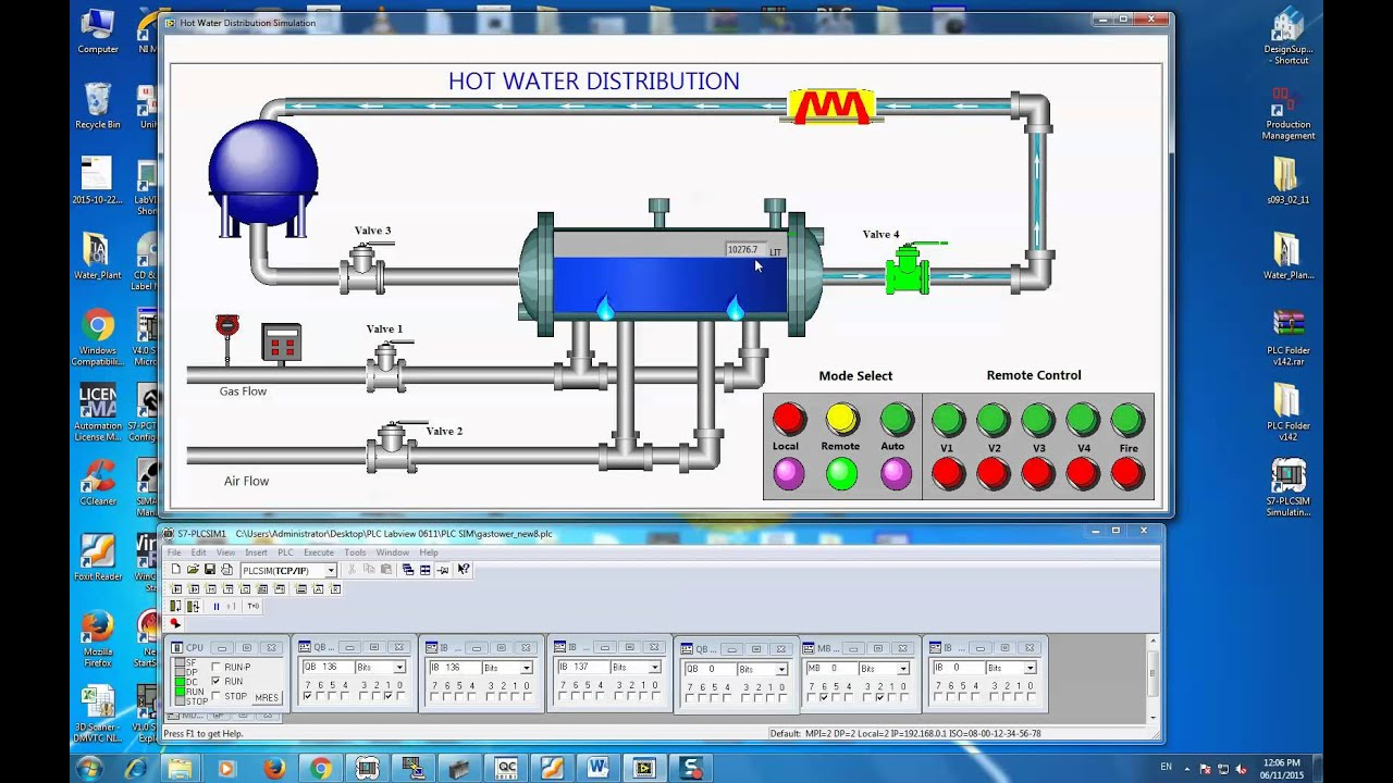 Labview connect to PLC S7-300 Simulation (PLCSIM) using NI
