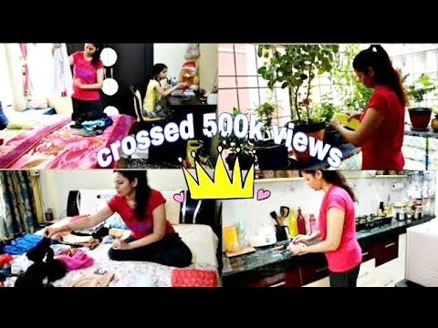 Daily Cleaning/ORGANISATION|10 mins Daily cleaning of all rooms! clean with me! PratimasLIFENLiving!